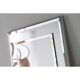 image-Melody Floor Standing Bevelled Mirror 174 x 62cm