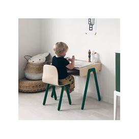 image-Small Children's Desk and Chair  - Green