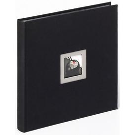 image-Photo Album Mercury Row Colour: Black, Size: 30cm H x 30cm W x 4cm D