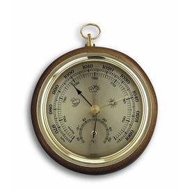 image-Wickson Barometer/Thermometer Breakwater Bay Colour: Oak