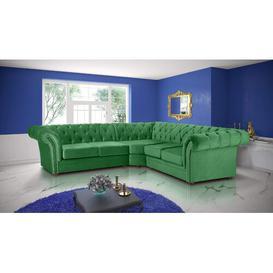 image-Kaya Modular Corner Sofa Willa Arlo Interiors Upholstery Colour: Green