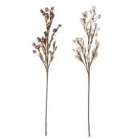 image-Artificial dried flowers - / Set of 2 - H 80 cm by Bloomingville Beige,Brown