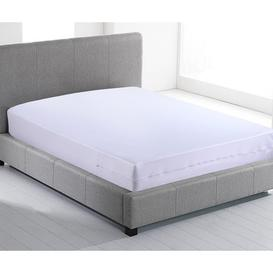 image-Fully Enclosed Waterproof Zipped Mattress Cover Anti Allergy