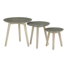image-Seay 3 Piece Nest of Tables Mikado Living