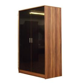 image-Eva 2 Door Corner Wardrobe Zipcode Design