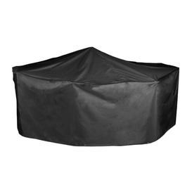 image-Protector 5000 Premium Patio Dining Set Cover WFX Utility Colour: Black