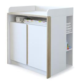 image-Nandini Changing Unit Vladon Colour: Oak coloured