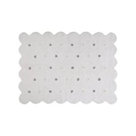 image-Lorena Canals Biscuit Washable Kids Rug - White