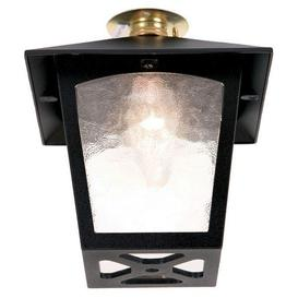 image-Elstead BL6C York exterior, black, flush porch lantern, IP20