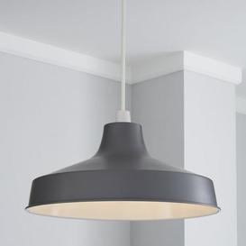 image-Stern 39cm Grey Easy Fit Pendant Grey