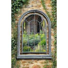 image-Charles Bentley Arched Glass Outdoor Mirror
