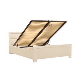 image-New York Bed with Storage in 4 Sizes - 180 x 200cm Alpine White