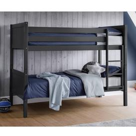 image-Lesko Single Bunk Bed Isabelle & Max Colour (Bed Frame): Anthracite