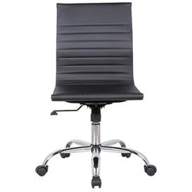 image-Carrie Desk Chair Wade Logan Colour (Upholstery): Black
