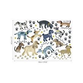 image-Villa Nova Walkies Wall Stickers, Multi, W590/01