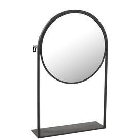 image-Cheval Mirror Symple Stuff Finish: Black