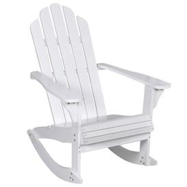 image-Bruse Rocking Chair Sol 72 Outdoor Colour: White