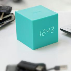 image-Modern Digital Electric Alarm Tabletop Clock Symple Stuff Finish: Green