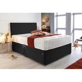 image-Medrano Divan Bed Willa Arlo Interiors Size: Single (3'), Storage Type: 2 Drawers Same Side
