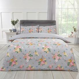 image-Fishback Blushing Rose 140 TC Duvet Cover Set Lily Manor Size: King Size - 2 Standard Pillowcases
