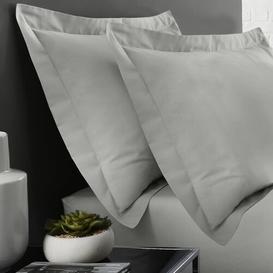 image-Gytha Envelope Oxford Pillowcase Ebern Designs Colour: Grey