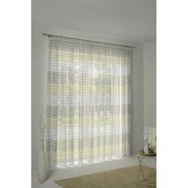 image-Hillevi Pencil Pleat Room Darkening Curtain Ebern Designs Colour: Beige/Natural, Panel Size: 135 W x 225 D cm