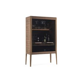image-Porada Atlante Bar Unit Canaletta Walnut