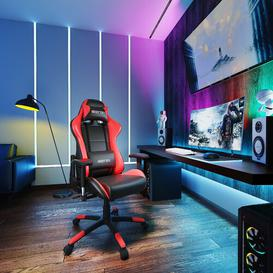 image-Ergonomic Gaming Chair KINWELL Colour: Red
