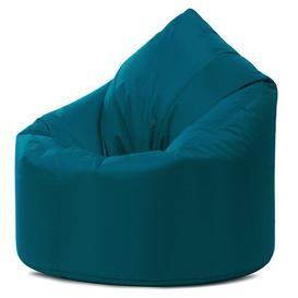 image-Teardrop Bean Bag Chair & Lounger Brayden Studio Upholstery Colour: Teal