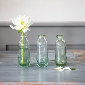 image-Set of three bottle vases