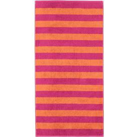 image-Hand towel Caw├╢ Colour: Pink/Orange