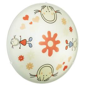 image-88973 Junior2 2 Light Child's Flush Ceiling Lamp