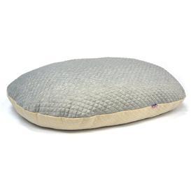image-Augusta Super Soft Pet Cushion in Cream/Grey Archie & Oscar Size: 45cm L x 35cm W