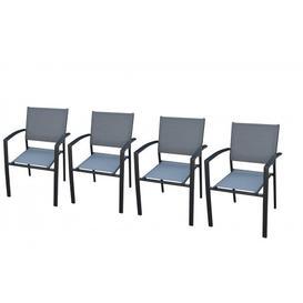image-Havana - Garden Dining Chair - Set of 4