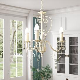 image-Edgar 3-Light Candle-Style Chandelier Lily Manor
