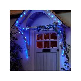 image-100 Led Digital Dewdrop Rainbow Indoor/Outdoor Christmas Lights