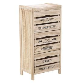 image-Mendoza 3 Drawer Chest August Grove