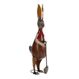 image-Rabbit with Spade Dinkins Figurine Happy Larry