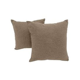 image-Versatile Pair of Fabric Scatter Cushions - Beige