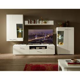 """image-Dominy Entertainment Unit for TVs up to 85\"""" Wade Logan"""
