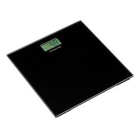 image-Symple Stuff 30 cm Bathroom Scale with Tempered Glass Symple Stuff Colour: Black