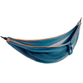 image-Jaheim Double Hammock Freeport Park Colour: Blue/Orange