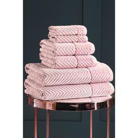 image-Silentnight 6-Piece Chevron Towel Bale