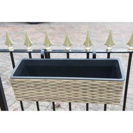 image-Bermiss Rattan Balcony Planter