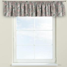image-Brooklyn Curtain Pelmet Dekoria Size: 130cm W x 40cm L, Colour: Pink/Grey