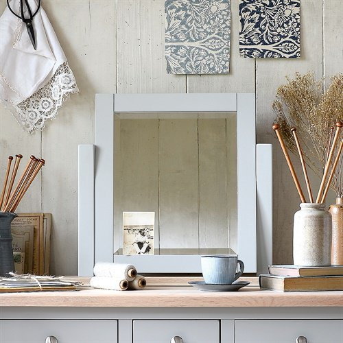 image-Chester Grey Dressing Table Mirror