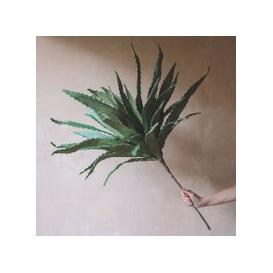 image-Faux Green Aloe Flower