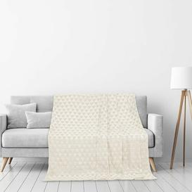 image-Anjali Blanket Isabelline Size: W70 x L150cm