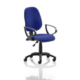 image-Mid-Back Desk Chair Symple Stuff Colour: Serene
