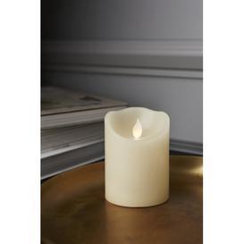 image-LED candle Symple Stuff Size: 10cm H x 7.5cm W x 7.5cm D, Colour: Beige